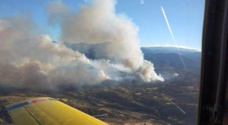 Αλμυρός: Υψηλός και σήμερα ο κίνδυνος πυρκαγιάς