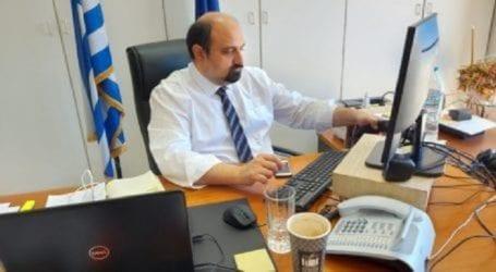 Χρ. Τριαντόπουλος: Προχωρά η διαδικασία εκπόνησης της μελέτης του ΟΣΕ για τη νέα σιδηροδρομική γραμμή προς Ν. Αγχίαλο και Αλμυρό