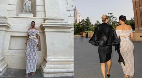 Kim Kardashian -Κate Moss: Έκαναν περιοδεία στο Βατικανό και προκάλεσαν την οργή των θαυμαστών