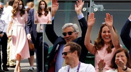 Το ρομαντικό φόρεμα που επέλεξε η Kate Middleton στον τελικό αντρών του Wimbledon