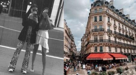 Μαθήματα street style από τις αδελφές Φαρμάκη στο Παρίσι