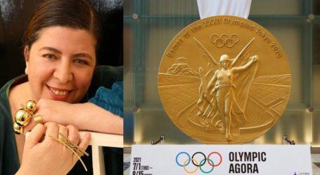 Έλενα Βότση: Η Ελληνίδα που σχεδίασε το χρυσό μετάλλιο των Ολυμπιακών Αγώνων