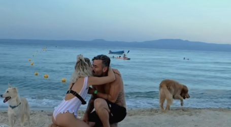 Γιώργος Μαυρίδης: Δείτε σε βίντεο την πρόταση γάμου που έκανε στη σύντροφό του
