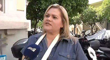 Η Χρύσλα Γεωργακοπούλου περιγράφει την επίθεση που δέχθηκε από οδηγό ταξί