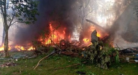 Συντριβή στρατιωτικού αεροσκάφους με 17 νεκρούς