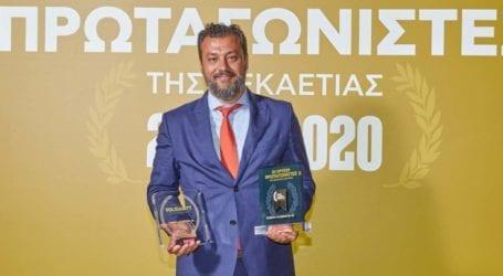 «Χρυσός Πρωταγωνιστής» της Δεκαετίας '10-'20 η λαρισινή Cosmos Aluminium ΑΕ