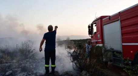 Φωτιά στον παράδρομο στο ύψος του Μακρυχωρίου – Στο σημείο η Πυροσβεστική Υπηρεσία Λάρισας