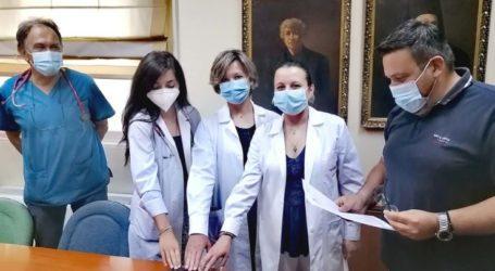 ΓΝΛ: Με τρεις ιατρούς ενισχύεται το Παθολογικό – Πραγματοποιήθηκε η ορκωμοσία