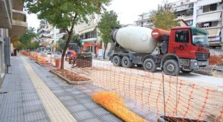 Η ΔΕΥΑΛ για τις διαμαρτυρίες πολιτών σχετικά με τις εργασίες στη συμβολή των οδών Ιουστινιανού και Κολοκοτρώνη