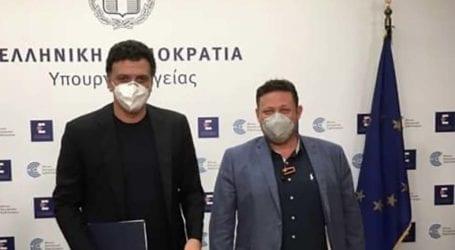Συνάντηση των φαρμακοποιών με τον Υπουργό Υγείας – Στην αντιπροσωπεία και ο Λαρισαίος Θάνος Κουτσούκης