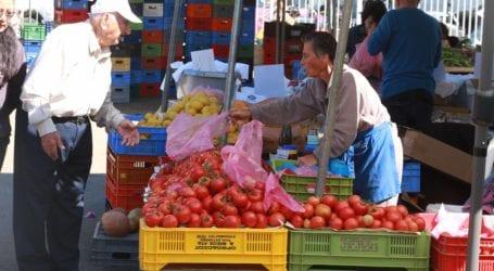Βόλος: «Όχι» στη λαϊκή αγορά από τη Ν. Δημητριάδα – Έσβησαν τη διαγράμμιση του Δήμου