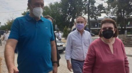 Λ. Μενδώνη: «Άμεσα οι σωστικές εργασίες σε σεισμόπληκτα μνημεία της Λάρισας του Τυρνάβου και της Ελασσόνας» (φωτο)
