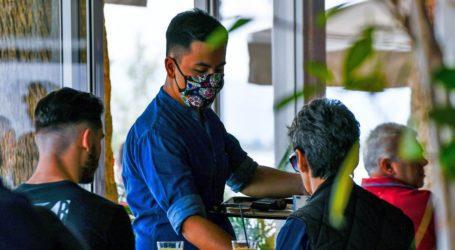 «Έβρεξε» πρόστιμα στη Νέα Ιωνία για μη χρήση μάσκας από σερβιτόρους