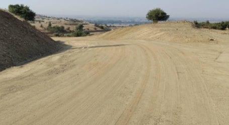Σε εξέλιξη από την Περιφέρεια Θεσσαλίας οι εργασίες κατασκευής του δρόμου που ενώνει Αμπελωνα – Ροδιά με Γόννους