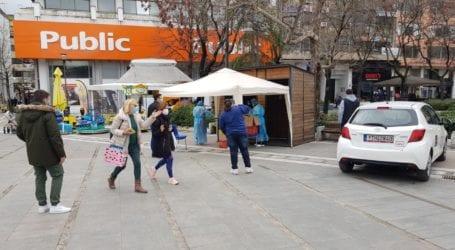 Θετικά κρούσματα κορωνοϊού μετά τα rapid tests στην Κεντρική Πλατεία Λάρισας