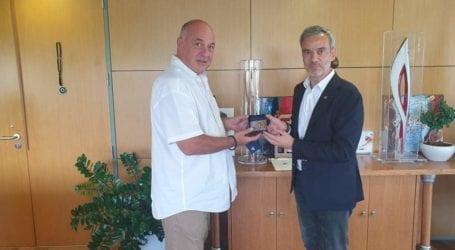 Με τον δήμαρχο Θεσσαλονίκης συναντήθηκε ο Αχιλλέας Μπέος [εικόνες]