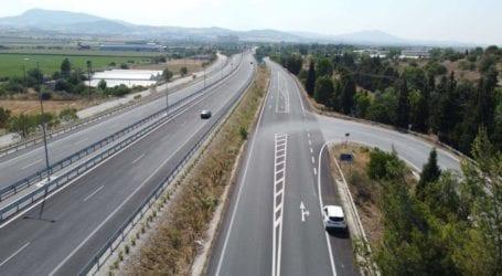 Βελτιώνει το παράπλευρο δίκτυο της Ε.Ο. Λάρισας- Βόλου η Περιφέρεια Θεσσαλίας