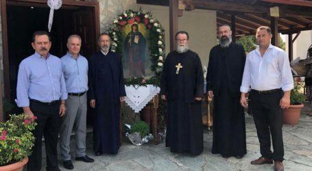 Με σεμνές εκκλησιαστικές Ακολουθίες ο εορτασμός της Αγίας Παρασκευής στους Γόννους