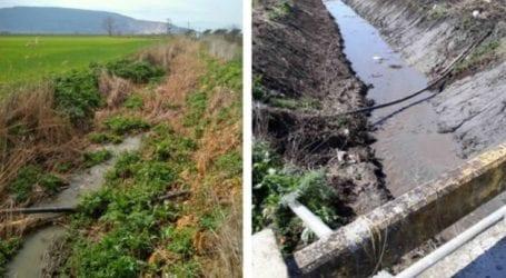 Καθαρίστηκαν τα ρέματα Απιδανού και Αϊκλή στα Φάρσαλα από την Περιφέρεια Θεσσαλίας
