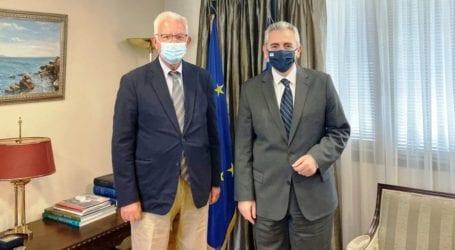 Χαρακόπουλος με Αντιπρόεδρο Κυβέρνησης: Συμβολή των Ορθοδόξων στον διάλογο για το μέλλον της Ευρώπης