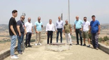 Το έργο ύδρευσης του Δρυμού Ελασσόνας επισκέφτηκε ο Αγοραστός: Επαρκές και καθαρό νερό σε 500 κατοίκους
