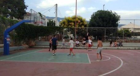 Με επιτυχία το τουρνουά μπάσκετ της ΚΝΕ κατά των ναρκωτικών