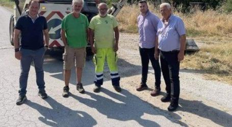 Εκτεταμένες εργασίες στο επαρχιακό και αγροτικό δίκτυο του δήμου Τυρνάβου