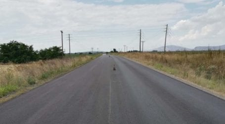Περιφέρεια Θεσσαλίας: Ασφαλτόστρωση και διαγράμμιση στον δρόμο Βασιλί-Μικρό Ευίδριο Φαρσάλων