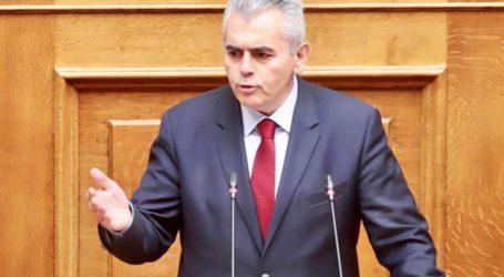 Χαρακόπουλος στη Βουλή: «Κυκλώματα εμπορίας ανθρώπων ακόμη κι από άτομα υπεράνω υποψίας!»