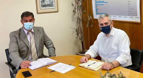 """Χαρακόπουλος με διοίκηση ΕΛΓΑ: Αποζημιώσεις για τις """"πληγές"""" που προκάλεσε η «Ψυχρή Λίμνη»"""