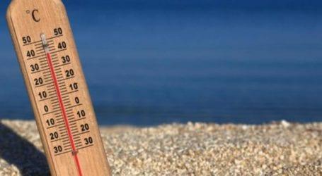 Στους 37 βαθμούς η αίσθηση θερμοκρασίας στον Βόλο