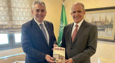 Συνάντηση Μ. Χαρακόπουλου με τον πρέσβη της Σαουδικής Αραβίας: Διεθνές ενδιαφέρον για το Μνημόνιο Ορθοδόξων-Μουσουλμάνων