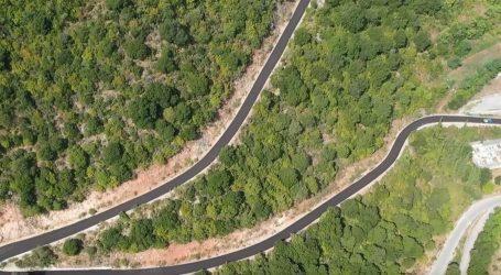 Εντυπωσιακός ο νέος δρόμος που έφτιαξε η Περιφέρεια Θεσσαλίας στον Άγιο Προκόπιο (video)