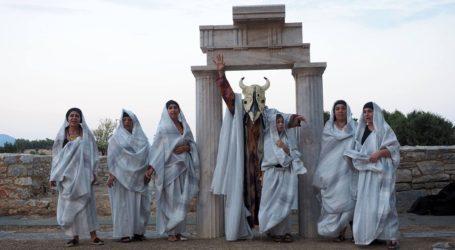 «Ικέτιδες Αισχύλου – ικέτες» στον αρχαιολογικό χώρο της αρχαίας Άλου στον Αλμυρό