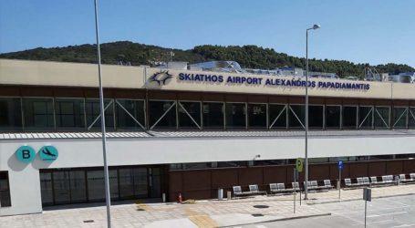 Σκιάθος: 190% αύξηση επιβατικής κίνησης στο αεροδρόμιο
