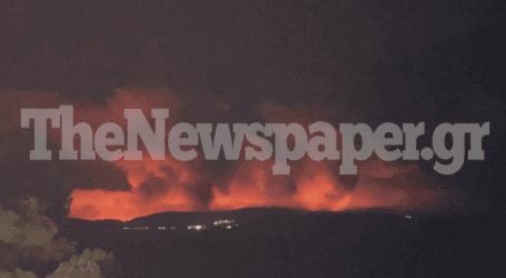 Φωτιά στην Εύβοια: Σοκάρουν οι εικόνες από τη Σκιάθο