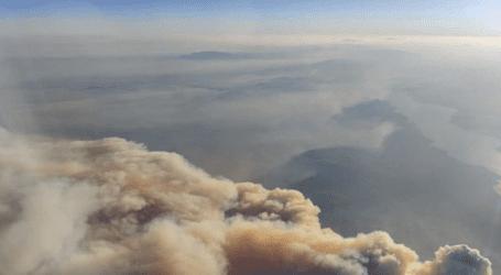 Αποπνικτική η ατμόσφαιρα στον Βόλο από τον καπνό της Εύβοιας – Τι συμβουλεύουν οι ειδικοί