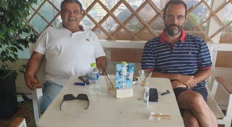 Κωνσταντίνος Μαραβέγιας: Στιγμές χαλάρωσης στη Σκιάθο