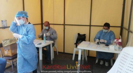 4 θετικά rapid tests την Παρασκευή 27 Αυγούστου στην Καρδίτσα και 2 στο Μορφοβούνι