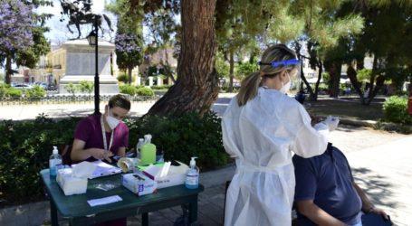 Σε ηλικίες κάτω των 40 ο μέσος όρος κρουσμάτων μετά τα rapid test στη Λάρισα