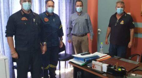 Κων. Μαραβέγιας: Ευγνώμονες στους πυροσβέστες για το σημαντικό κοινωνικό έργο που επιτελούν