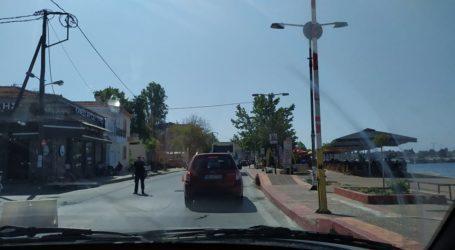 Με τη συνδρομή της τροχαίας ρυθμίζεται η κίνηση στο οδικό δίκτυο Βόλου – Νεοχωρίου [εικόνες]