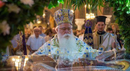 Μήνυμα Ιγνάτιου για την γιορτή της Κοιμήσεως της Θεοτόκου