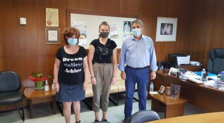 Νοσοκομείο Βόλου: Νέα εργαζόμενη η Ιωάννα Καλύβα