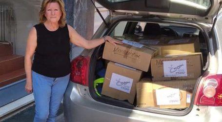 Αποστολή βοήθειας των Ενεργών Πολιτών Λάρισας στους πυρόπληκτους της Ηλείας