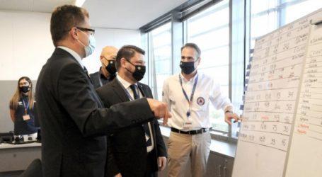 Νίκος Χαρδαλιάς – Συνάντηση με τον Ευρωπαίο Επίτροπο για τον υφυπουργό Πολιτικής Προστασίας