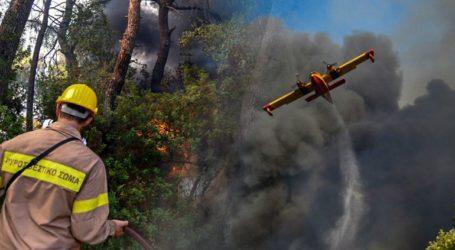 Μαίνεται η φωτιά στην Αχαΐα