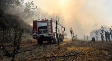 Μάχη με τις αναζωπυρώσεις εξακολουθούν να δίνουν οι πυροσβέστες και οι εθελοντές