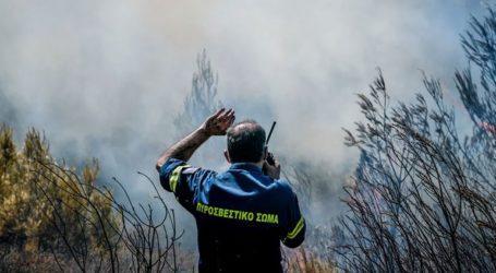 Πολύ υψηλός κίνδυνος πυρκαγιάς την Τρίτη για αρκετές περιοχές της χώρας