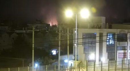 Live οι φλόγες στη Βαρυμπόμπη